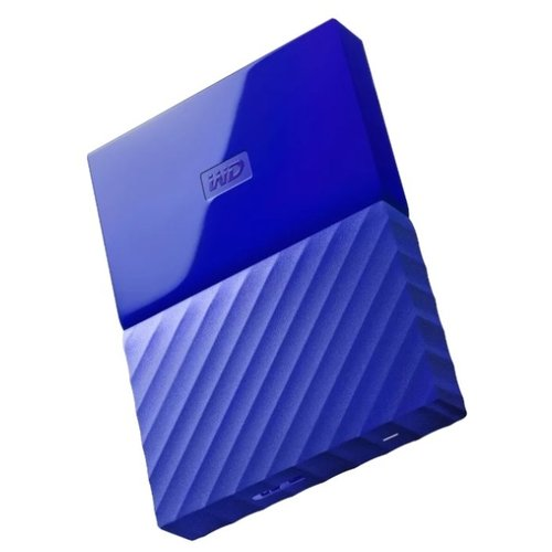 Внешний HDD Western Digital My Passport 4 ТБ синий