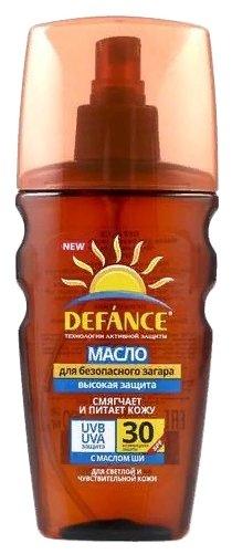 Defance Масло для безопасного загара SPF 30