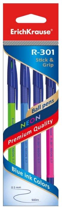 ErichKrause Набор шариковых ручек R-301 NEON, 0.5 мм (42023EK)