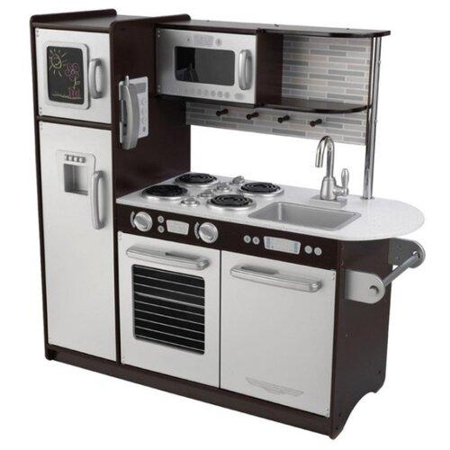 Фото - Кухня KidKraft 53260/53257/53298 черный/белый деревянная кухня kidkraft uptown espresso 53260 ke