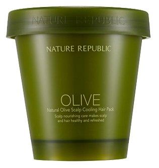 NATURE REPUBLIC Natural Olive Охлаждающая маска для кожи головы