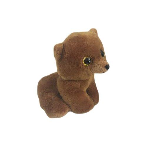 Купить Мягкая игрушка Chuzhou Greenery Toys Медведь бурый 14 см, Мягкие игрушки