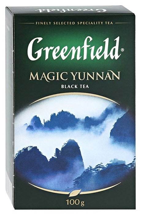 Чай черный Greenfield Magic Yunnan, 100 г