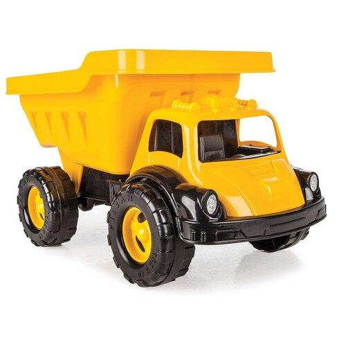 Купить Грузовик pilsan Truva Truck (06-612) 41 см черный/оранжевый, Машинки и техника