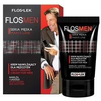 Floslek Увлажняющий крем Flosmen Moisturizing Cream For Men