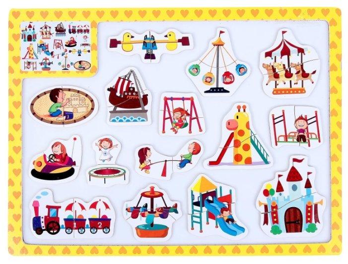 Доска для рисования детская Сима-ленд Парк развлечений (1831046)