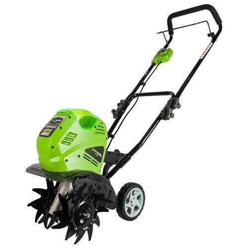 цена на Культиватор аккумуляторный greenworks G-MAX 40V G40TL (27087)