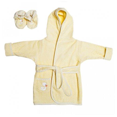 Купить Комплект одежды Spasilk размер 0-9, желтый, Комплекты