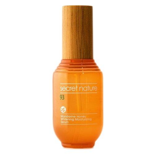 Купить Secret Nature Mandarine Honey Whitening Moisturizing Serum Осветляющая и увлажняющая сыворотка для лица с экстрактом мандарина и мёда, 53 мл