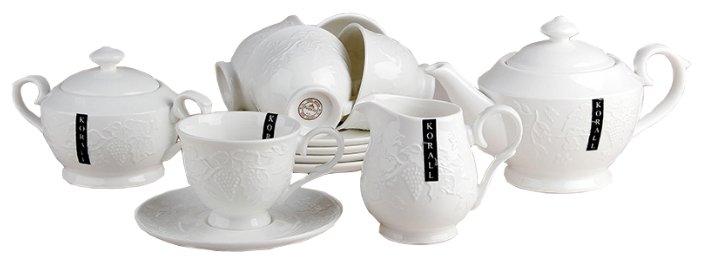Чайный сервиз Коралл Зара