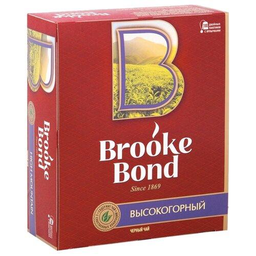 Чай черный Brooke Bond Высокогорный в пакетиках, 100 шт. пуловер quelle ashley brooke 193109