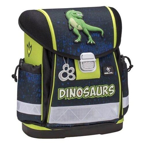 Belmil Ранец Classy Dinosaurs с наполнением (403-13/647/SET) синий/зеленыйРюкзаки, ранцы<br>