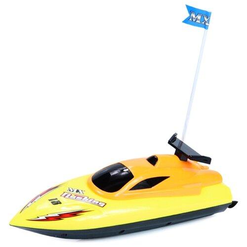 Купить Катер Mioshi Tech Скорость-X24 (MTE1205-018) 24 см желтый, Радиоуправляемые игрушки