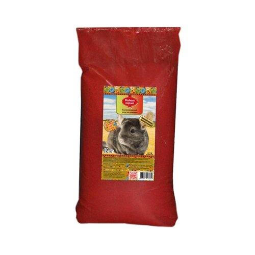 Комбикорм для шиншилл Родные корма гранулированный 10 кг