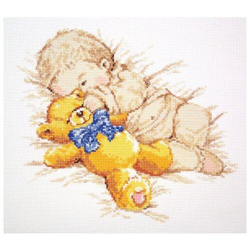 Фото - Алиса Набор для вышивания крестиком Сынишка 25 x 22 см (4-07) алиса набор для вышивания тюльпаны малиновое сияние 22 x 26 см 2 43