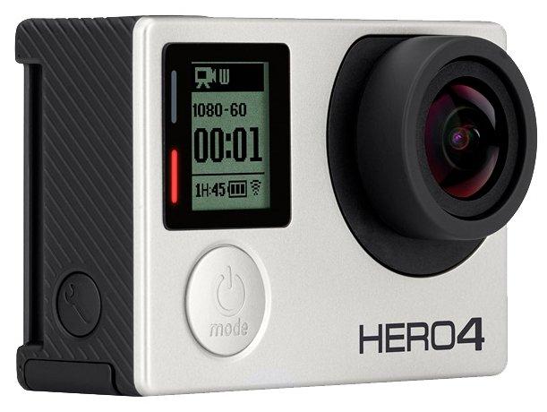 GoPro Экшн-камера GoPro HERO4 Silver (CHDHY-401)