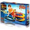 Bburago Паркинг 3-х уровневый Street Fire Parking Playset 1830025 с разводным мостом 18-30025