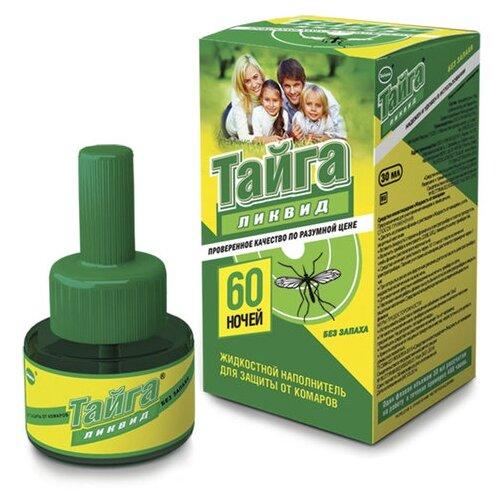 Жидкость для фумигатора Тайга Ликвид от комаров ИН-24/ИН-36/ИН-37 30 мл 60 ночей