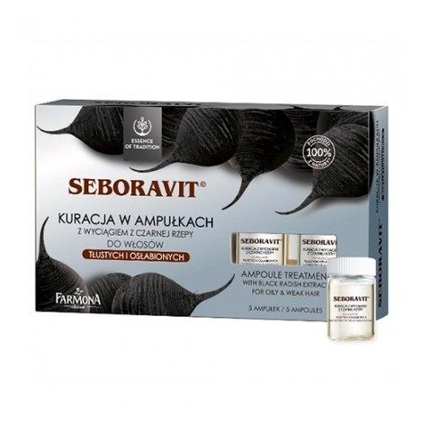 Farmona Seboravit Концентрат для жирных и слабых волос с черной редькой