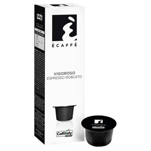 Кофе в капсулах Caffitaly Ecaffe Vigoroso (10 капс.) кофе в капсулах caffitaly ecaffe ginseng 10 капс