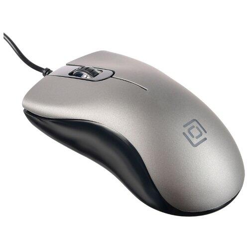 Мышь OKLICK 375M Gray USB