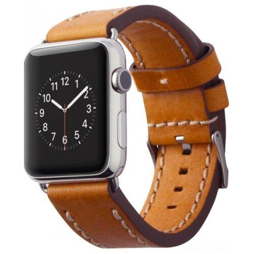 Cozistyle Leather Band for Apple Watch 42/44mm светло-коричневый ремешок cozistyle double tour leather watch band cdlb010 black