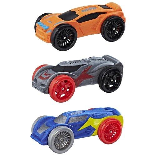 Набор машин Nerf Нитро из трех моделей (C0777) синий/оранжевый/серыйМашинки и техника<br>