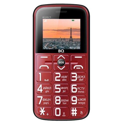 Телефон BQ 1851 Respect красный телефон