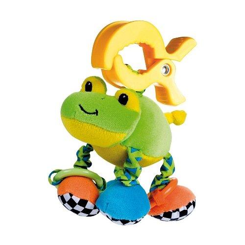 Купить Подвесная игрушка Canpol Babies Лягушка (68/010) зеленый/желтый/голубой, Подвески