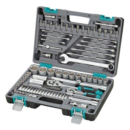 Набор автомобильных инструментов Stels (82 предм.) 14105 набор автомобильных инструментов thorvik 82 предм uts0082