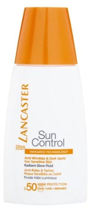 Lancaster флюид Sun Control против морщин и пигментных пятен Сияющий загар SPF 50