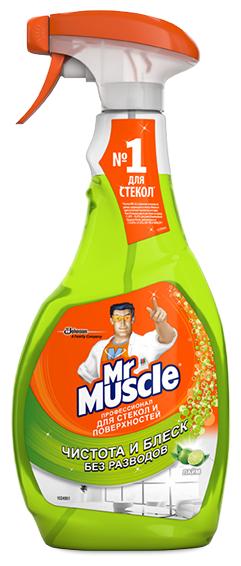 Спрей Mr. Muscle Профессионал для стекол и поверхностей Лайм