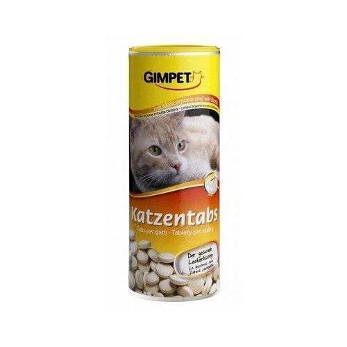 Витамины GimPet Katzentabs с маскарпоне и биотином 710 таб.