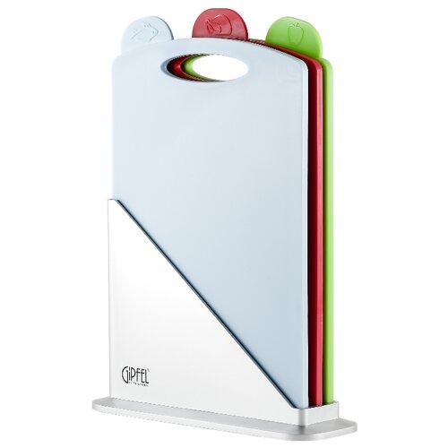 Набор разделочных досок GIPFEL 3149 BRIGHT 33,5x23,5х8 см (3 шт.) зеленый/красный/голубой