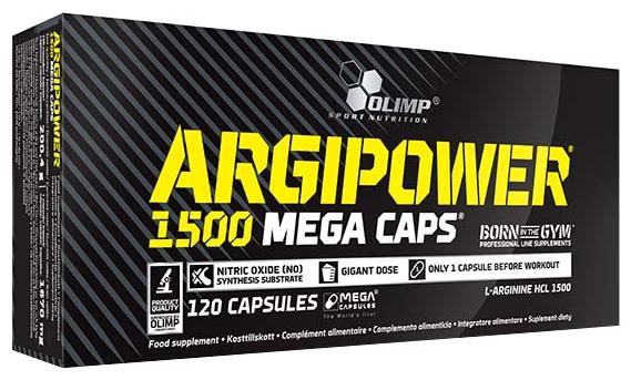 Аминокислота Olimp ARGIPOWER 1500 Mega Caps (120 капсул)