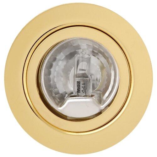 Встраиваемый светильник De Fran FT 9216 Art1 G, золото треугольник de fran ft 9228 g smd