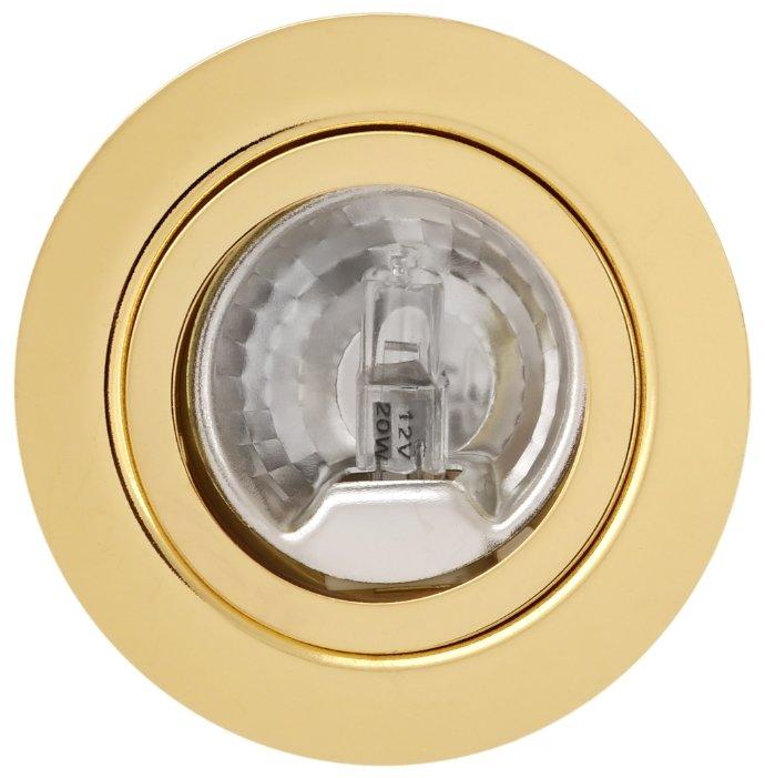 Светильник De fran Ft 9216 art1 g светильник мебельный с прозрачным стеклом+лампа в комп. золото