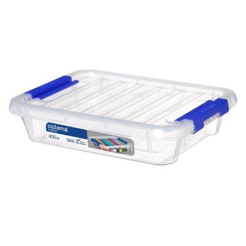 Sistema Контейнер универсальный Storage 16х12,1х3,7 см прозрачныйКорзины, коробки и контейнеры<br>