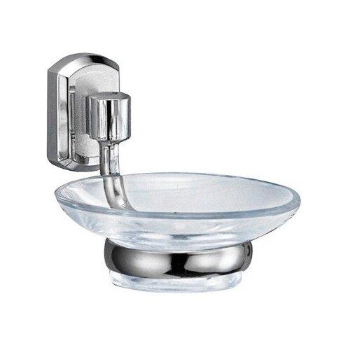 Мыльница WasserKRAFT Oder K-3029 хром/прозрачный