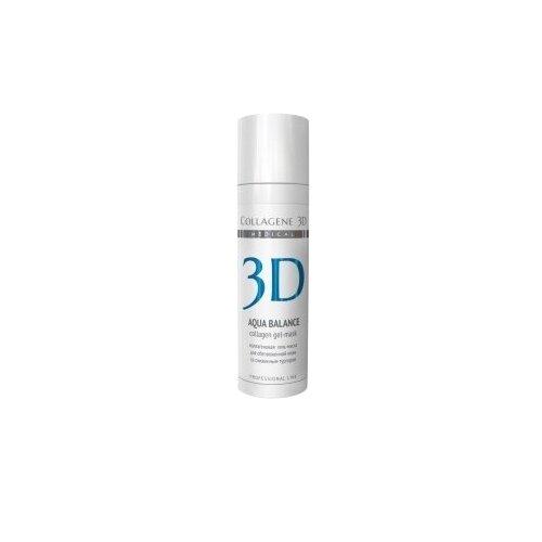 Medical Collagene 3D коллагеновая гель-маска Aqua Balance Professional Line, 30 мл