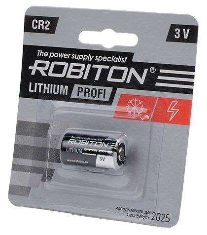 Батарейка ROBITON Lithium Profi CR2 — купить по выгодной цене на Яндекс.Маркете