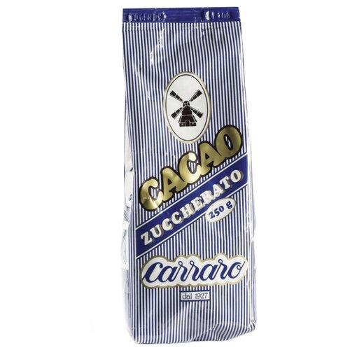 Carraro Sugar Cocoa Zuccherato Какао-напиток растворимый, 250 гКакао, горячий шоколад<br>