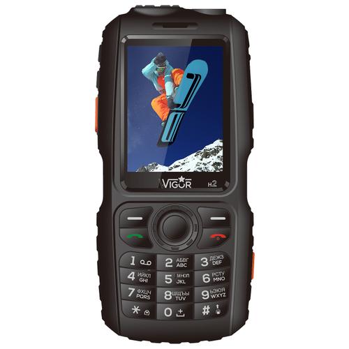 Телефон Wigor H2 черный телефон