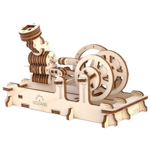 Купить Сборная модель UGEARS Пневматический двигатель, Сборные модели