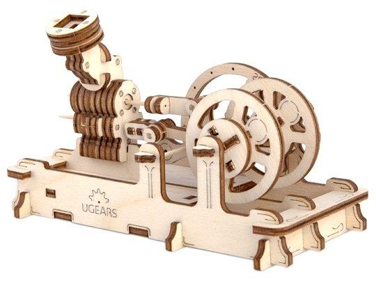 Сборная модель UGEARS Пневматический двигатель,,