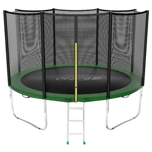 Каркасный батут EVO Jump 12FT External 366х366х265 см зеленый