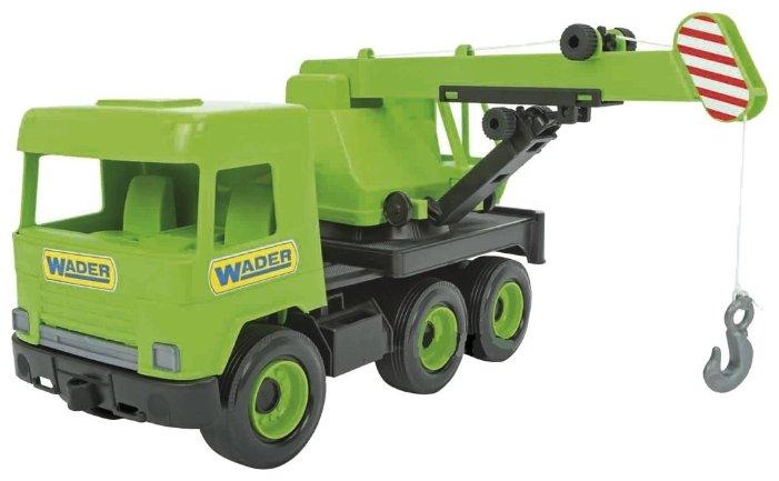 Автокран Wader Middle truck (39483) зеленый
