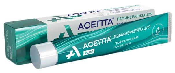 Зубная паста Асепта Plus Реминерализация 75 мл