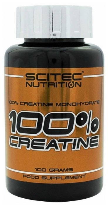 Креатин Scitec Nutrition 100% Creatine Monohydrate (100 г)