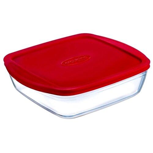 Форма для запекания Pyrex 209, 1.6 л, 22х22х5 см форма для запекания pyrex 211 1 л 20х17х6 см